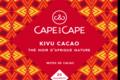 cape and cape - thé africain - african tea - kivu cacao