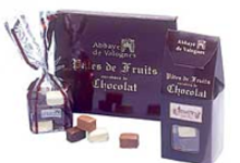 Pâtes de fruits Enrobées de chocolat Noir, au Lait et Blanc