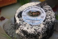 Fromage de Chèvre Frais Nature, Cendré