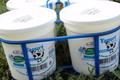 yaourts nature sucrés label Bleu Blanc Coeur