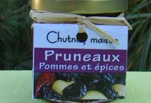 Chutney pruneaux-épices