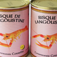 Lot de 2 bisques de langoustine