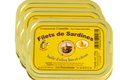 lot de 3 boites de filets de sardine au citron