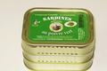 Sardines millésimées à l'huile d'Olive et au Poivre Vert