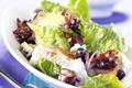 Salade Romaine avec Salsa de Myrtilles