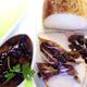 Rôti de Porc Fumé avec Sauce au Calvados et aux Myrtilles