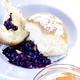Chaussons à l'autrichienne  avec compote d'abricots et de myrtilles
