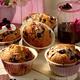 Muffins  aux myrtilles sauvages du Canada
