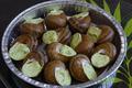 12 escargots à la Bourguignonne en coquilles