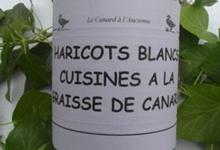 Haricots blancs cuisinés à la graisse, Ferme de Larcher