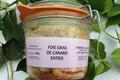 Foie gras de canard entier, Ferme de Larcher