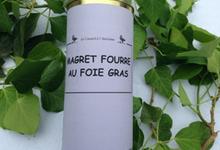 Magret fourré au foie gras,  Ferme de Larcher
