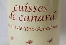 Cuisses de canard au vin de Roc-Amadour