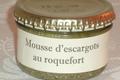 Mousse d'escargots au roquefort