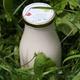 Yaourt à boire bio à la confiture de fraises