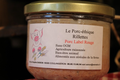 Verrine de 200 gr de rillettes de porc Label Rouge