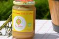 Compote de pomme zeste de citron