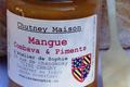 Chutney de Mangue, combava et piments