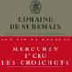 domaine de Suremain - MERCUREY 1er CRU Les CROICHOTS