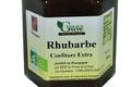 Confiture artisanale bio de Rhubarbe