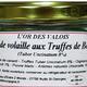 Rillettes de volaille aux Truffes de Bourgogne