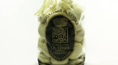 Nougatines de Nevers au citron