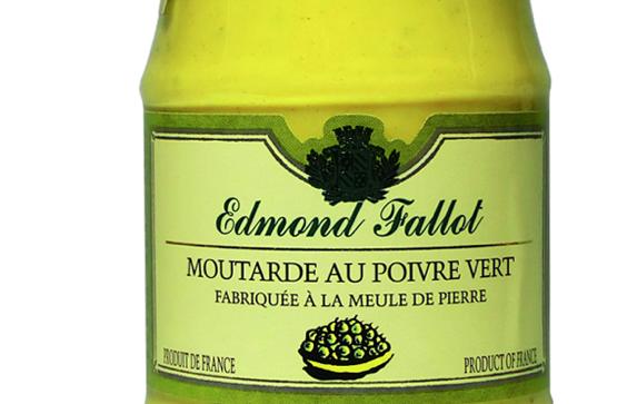 Fallot moutarde au poivre vert - Moutarde fallot vente ...