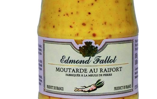 Fallot moutarde au raifort - Moutarde fallot vente ...