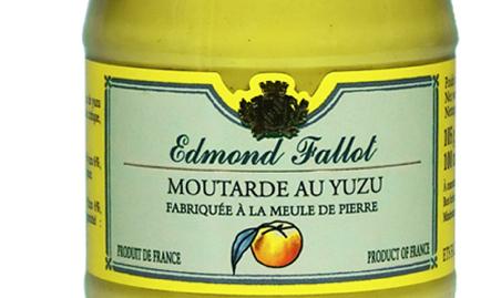 Fallot moutarde au yuzu - Moutarde fallot vente ...
