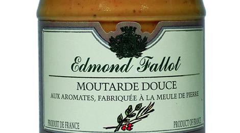 Fallot - Moutarde Brune Douce aux Aromates