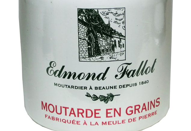 Fallot moutarde en grains en pot de gr s - Moutarde fallot vente ...