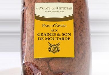 Pain d 39 pices aux graines et son de moutarde e fallot - Moutarde fallot vente ...