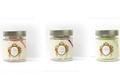 Lot de 3 pots de bonbons Mulot et Petitjean - Anis, Cassis , Rose