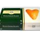 Boîte de 6 coeurs dorés glacés