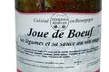 Joue de boeuf, ses légumes et sa sauce au vin rouge
