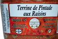 Terrine de Pintade aux raisins