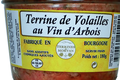 Terrine de volailles au vin d'Arbois