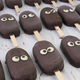 """Miniskimos"" à la glace chocolat"