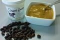 Crème dessert fermière café de la ferme de Champel