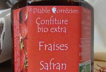 Le Diable Corrézien - Confiture extra Fraise-Safran