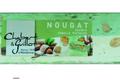 Barre Nougat tendre vanille/pistache