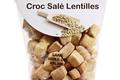 croc salé farine lentilles bio