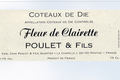 """domaine poulet et fils, Coteaux de Die """"Fleur de Clairette"""