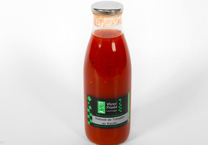 Grillade Partie Tomate Basilic