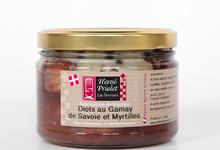 Diots au Gamay de Savoie et Myrtilles