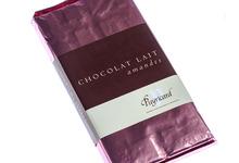 Tablette chocolat lait amandes