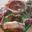 colis de viande de porc sous vide