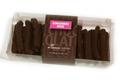 Gingembre confit au chocolat noir