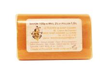 Savon au miel et au pollen