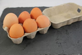 Boite de 6 très gros œufs BIO